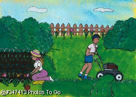 Illustration: Lawn and garden